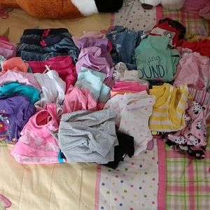 Huge lot of girls play clothes size 18 months